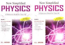 new simplified physics a reference book for class xii set of 2