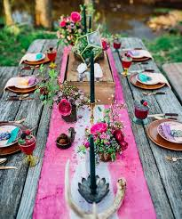 Table Wedding Decorations Best 25 Picnic Table Wedding Ideas On Pinterest Farmhouse