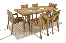 Modern Teak Outdoor Furniture by Round Wood Patio Table Xena Reclaimed Teak Round Dining Table