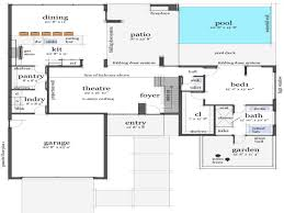 100 contemporary homes floor plans images designer