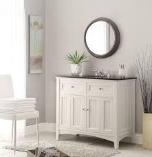 adelina 42 inch antique white sink bathroom vanity
