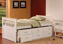 Captains Bed Bedroom Captains Bed With Trundle Girls Trundle Bed Captains