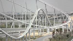 roller coaster abu dhabi speed formula rossa the s fastest roller coaster