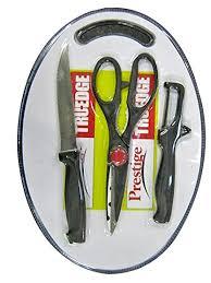prestige kitchen knives buy prestige tru edge 43018 kitchen knife set with cutting board