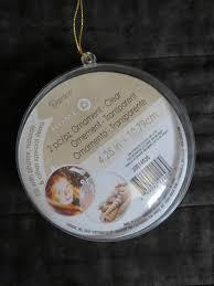 plastic round disc craft ornamentappx 4 25 inch diameter2