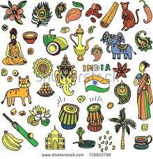 doodle indian india doodle icons free vector stock graphics images