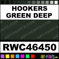 hookers green deep artists watercolor paints rwc46450 hookers