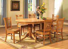 Heywood Wakefield Dining Room Set Bedroom Mesmerizing Oval Dining Room Table Sets Glass Pads Wood