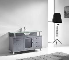 virtu usa ms 55 fg gr vincente 55 in bathroom vanity set