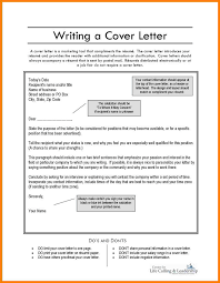 Write A Good Cover Letter What Needs To Be In A Cover Letter Gallery Cover Letter Ideas