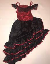 Spanish Dancer Halloween Costume Mexican Dress Costumes Girls Ebay