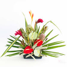 christmas flowers hawaiian flowers lanui flower assortment