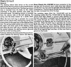 thesamba com beetle 1958 1967 view topic horn wiring problems
