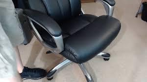 AmazonBasics High Back Executive Chair  Black REVIEW  YouTube
