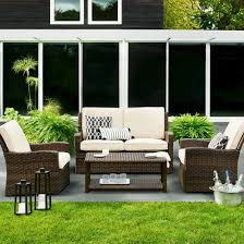 white wicker porch furniture decorate with inside whicker patio