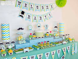 baby shower mustache mustache bash baby shower party ideas photo 1 of 21