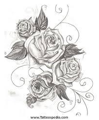 rose tattoo designs 3