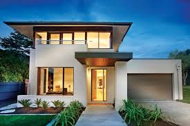 Modern House Plan  From Houseplanscom Real Estate - Contemporary modern home design