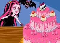 jeux de cuisine de gateaux d anniversaire cuisine gateau d anniversaire pour draculaura titre du jeu en