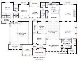 Home Plans With Courtyards Contemporary Side Courtyard House Plan Garage Workshop House