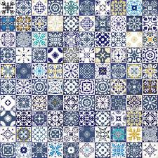 Moroccan Tile by Seamless Patchwork Pattern From Colorful Moroccan Tiles Ornaments