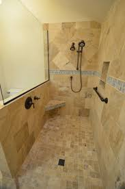 good bathroom walk showers featuring no doors radioritas com bathroom doorless shower design amazing doorless shower design with brown stone wallpaper