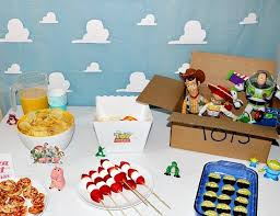 toy story activity table toy story disney movie night