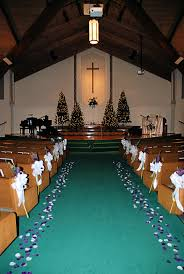 Wedding Decoration Church Ideas by Church Decorations For A
