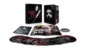 amazon com friday the 13th the complete collection blu ray