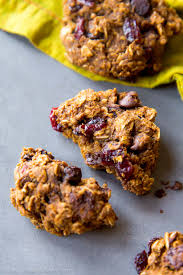 easy thanksgiving cookies healthy pumpkin chocolate chip oatmeal cookies sallys baking