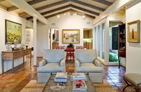 design ideas saltillo tile with decorative pillows and