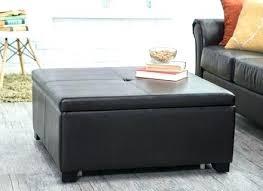 storage cube coffee table wonderful unique ottomans living room storage cube coffee table