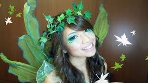 woodland fairy halloween costume forest fairy halloween makeup tutorial youtube
