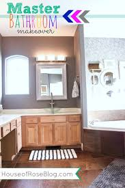 master bathroom makeover decorating ideas
