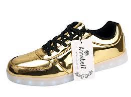 amazon com annabelz led shoes usb charging light up glow shoes