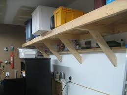 impressive inspiration wood garage shelves innovative decoration
