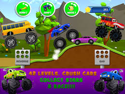 monster trucks game kids 2 android apps google play