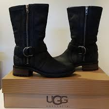 ugg shoes australia brown boots poshmark ugg shoes australia silva black moto design boots poshmark