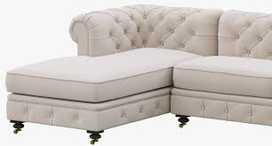 restoration hardware kensington upholstered u chaise sectional 3d