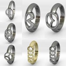 make rings images Car make model logo rings garage girls jewelry jpg