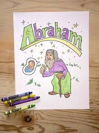 free father abraham coloring u2013 children u0027s ministry deals