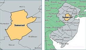 somerset map somerset county jersey map of somerset county nj where