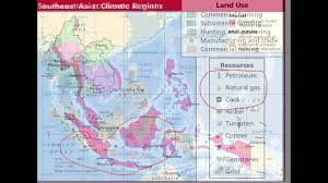 Southeast Asia Physical Map by 1 Physical Geography Climate And Vegetation Of Southeast Asia