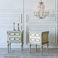Vintage Bedroom Furniture 1940 French Country Style Eloquence Pair Of Vintage Nightstands 1940
