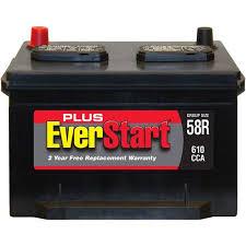 1995 jeep battery everstart plus automotive battery size 58r 3 walmart com