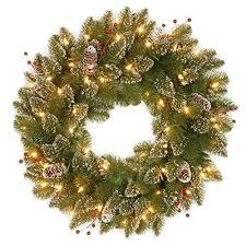 battery lighted fall garland pre lit christmas wreath improvements mailbox garland wreaths for