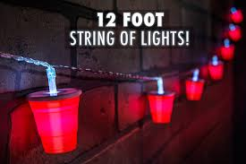 cup string of lights