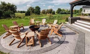 luxury patio design u2014 degnan design build remodel