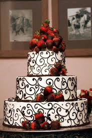 chocolate wedding cakes with strawberries pleasant best 25 red