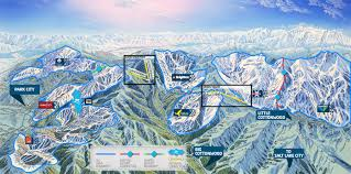 Colorado Ski Map by If One Wasatch Ever Happens Aspen Interconnect Could Be